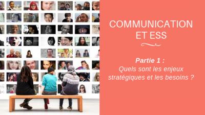 Communication et ESS P1